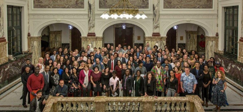 180 Amsterdammers groepsfoto